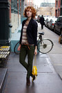 Dark-brown-ash-boots-neutral-knitted-cooperative-sweater