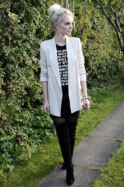 Zara blazer - Friis & Co boots