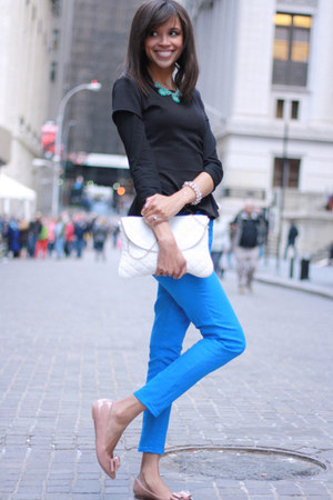 J Crew jeans - Tobi shirt - JCrew flats