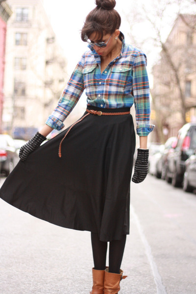 asos skirt - J Crew shirt