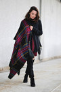 Black-olsenboye-boots-black-thrifted-ann-taylor-sweater