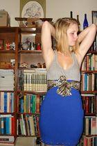 forever 21 shirt - moms closet scarf - American Eagle skirt