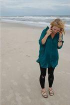 Zara dress - simply vera wang tights - Target shoes