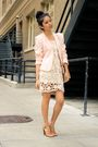 beige Beacons closet vest - brown Payless shoes - beige Urban Outfitters dress