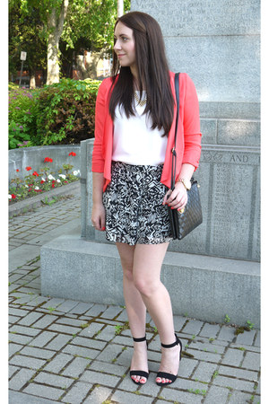 Maurices blazer - Urban Planet shorts - Rickis blouse - Forever 21 sandals