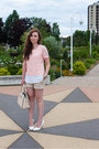 Beige-christian-lacroix-bag-beige-rickis-shorts-white-call-it-spring-heels