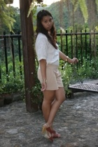 blouse - cult femme shorts - Rustans accessories - cotton on accessories
