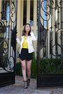 Off-white-leather-jacket-zara-jacket-black-skort-zara-shorts
