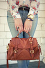 Sky-blue-zara-jeans-tawny-satchel-anthropologie-bag