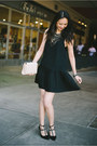 Black-studded-banana-republic-shoes-black-pleated-myne-dress