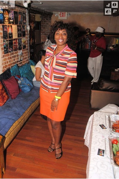 Fabrik blouse - ann taylor skirt - Gucci heels