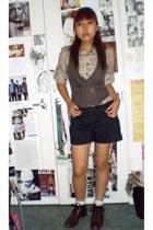 shirt - vest - shorts - shoes - accessories