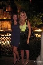 American Apparel top - Bebe skirt - Bebe shoes - Love Culture purse