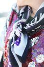 Silver-vintage-top-brown-target-boots-purple-vintage-scarf-blue-target-sho