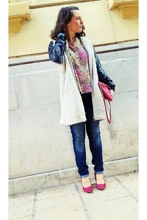 cream suiteblanco blouse