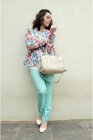 Festa blazer - aquamarine Lefties jeans