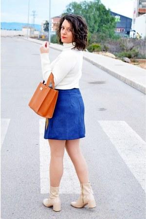 navy Newchic skirt
