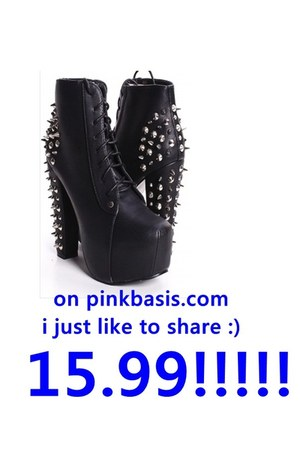 studded booties PINKBASIS boots