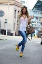 Zara heels - H&M blazer - Zara bag