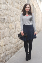 navy Club Monaco skirt