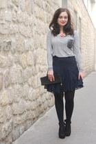 navy Club Monaco skirt