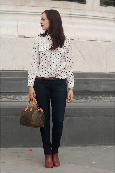 white chicnova blouse