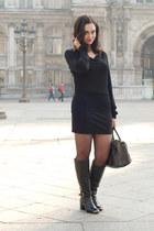 black Jonak boots