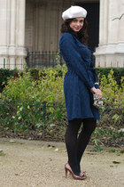 navy les composantes dress
