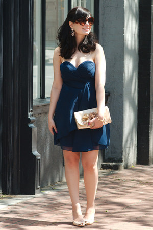 navy Faviana dress