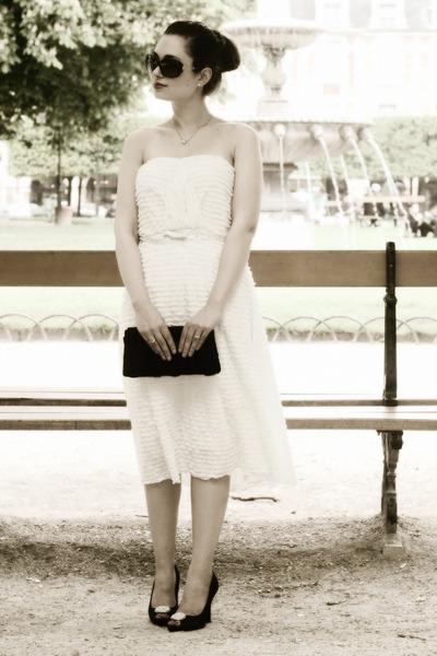 white Dear Faithful dress