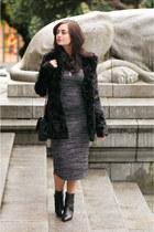 black le chateau coat