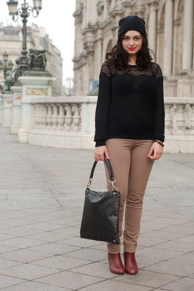 black Nella Bella bag