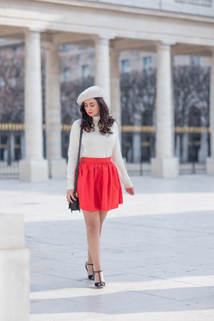 red PartySkirts skirt