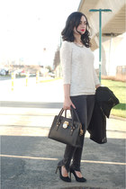 charcoal gray Anine Bing jeans