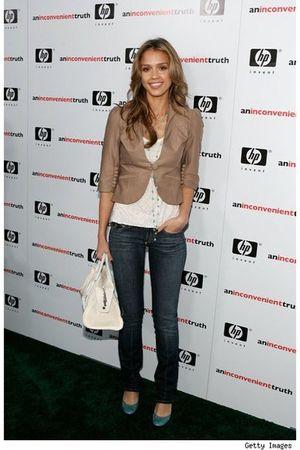 beige Rich & Skinny jeans