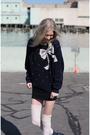 Black-american-apparel-dress-vintage-sweater-pink-diy-h-m-socks-roper-boot
