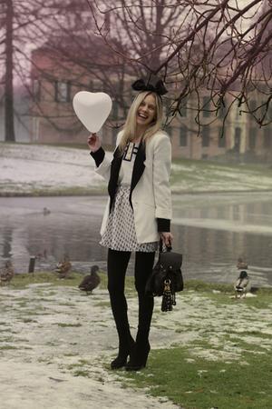 Topshop top - selfmade skirt - Topshop - Zara blazer - Alexander Wang blazer
