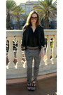 F21-sunglasses-marc-by-marc-jacobs-watch-sheer-h-m-blouse-zara-pants