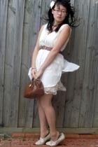 vest - Living Doll dress - Robin Mond shoes - belt