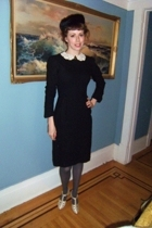 frederick & nelson hat - dress - H&M tights - shoes
