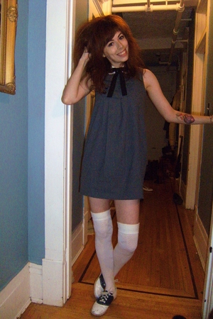 Zara dress - shirt - socks - tie - shoes