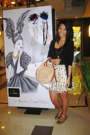 Topshop dress - Topshop shoes - Topshop purse - Kathang Kamay necklace