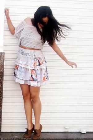 3 camadas Riachuello dress - Renascena blouse