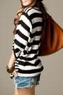 Black-autumn-spring-fashionmia-t-shirt