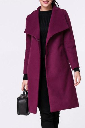 Fashionmia coat - Fashionmia coat - salmon davidsbridal coat