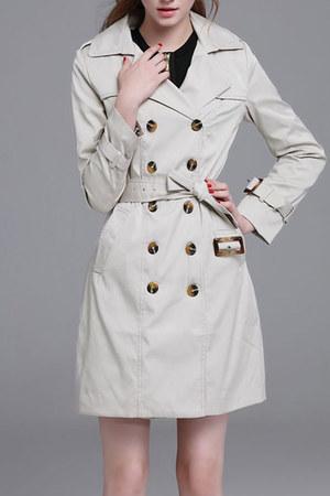 Fashionmia coat - Fashionmia coat - Fashionmia coat - salmon stylebop dress
