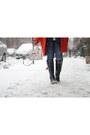 Evedon-rain-joules-boots-navy-puffer-lands-end-vest