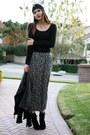 Black-bebe-sweater-blue-vintage-skirt-black-kate-spade-boots-black-modclot
