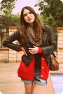 Black-anthropologie-boots-black-zara-jacket-red-wholesale-dressnet-sweater-