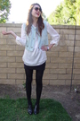 Blue-h-m-vest-white-h-m-blouse-black-urban-outfitters-skirt-black-banana-r